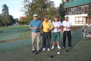 1 Jorge Nakamura, Funio Takahashi, Ricardo do Valle e Edmilson Meinlschmiedt