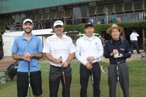 14 Joaquim Meneleu Neto, Gastao Vosgerau, Chuichi Yakushijin e Luis Ito