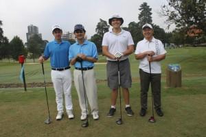 19 Pedro Rissio, Nelson Saito, Mauricio Sato e Junio Kusakawa