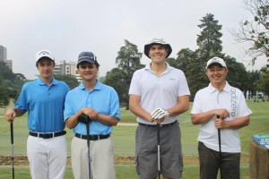 20 Pedro Rissio, Nelson Saito, Mauricio Sato e Junio Kusakawa