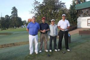 3 Carlos Ivo Haas, Jackson dos Santos, Henrique Okoshi e Ademir Grik