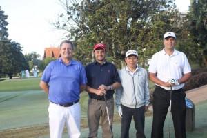 4 Carlos Ivo Haas, Jackson dos Santos, Henrique Okoshi e Ademir Grik