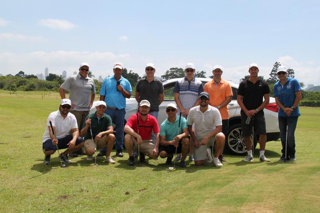 Alguns dos participantes do GolfDay - crédito Cintia Pereira