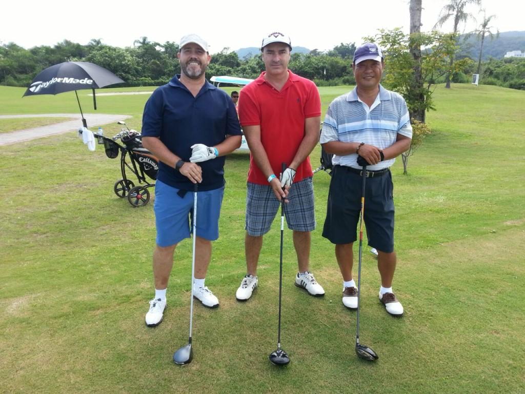 Cassio José Schreiner, Antonio Carlos Olguins e Jae Man Kim
