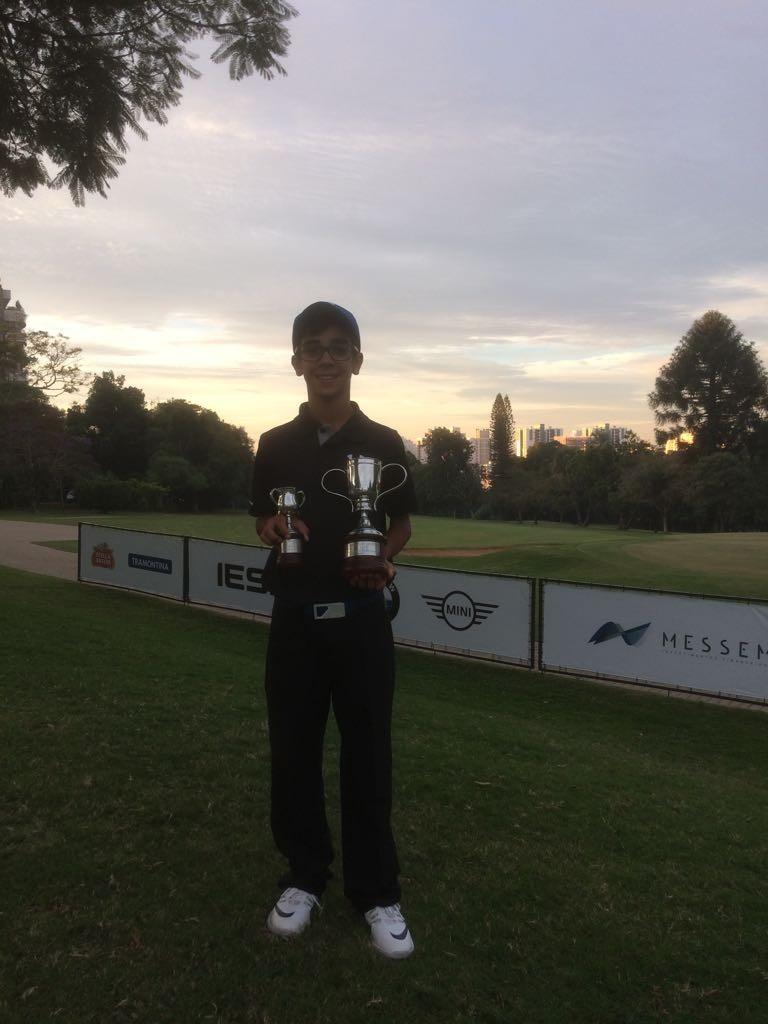 Paranaense Renato da Silva Filho - 1º lugar na categoria M2 e Melhor Juvenil Net