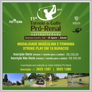 pro renal torneio golfe 2017