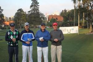 2 Oilson Negrelle, Alvaro Quadros Neto, Andre Fauth e Carlos Hapner
