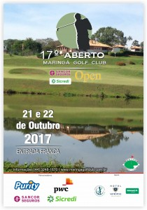 MARINGA GOLF CLUB_Cartaz 2017